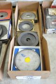 Lot-(4) Various Diamond Grinding Wheels in (1) Box, (Bldg 1)