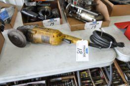 """DeWalt Model D28494, 7-9"""" Electric Angle Grinder, (Bldg 1)"""