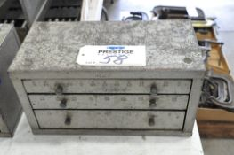 Huot Fractional 3-Drawer Drill Cabinet with Drill Contents, (Bldg 1)