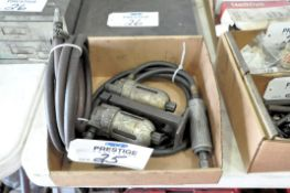 Pneumatic Straight Die Grinder with Oilers and Air Hose in (1) Box, (Bldg 1)