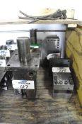 Lot-(6) Square Tool Holders, (Bldg 2)