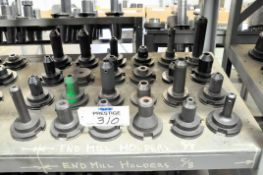 Lot-(24) Various 50-Taper Tool Holders, (Bldg 1)