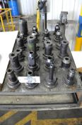 Lot-(24) CAT 50-Taper Tool Holders, (Bldg 1)