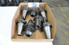 Lot-(7) CAT 50-Taper Tool Holders in (1) Box, (Bldg 1)