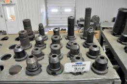 Lot-(19) Various 50-Taper Tool Holders, (Bldg 1)