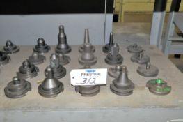 Lot-(20) Various 50-Taper Tool Holders, (Bldg 1)