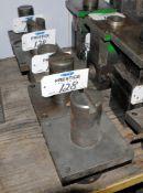Lot-(7) Round Shank Tool Holders, (Bldg 2)