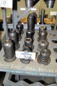 Lot-(12) Various 50-Taper Tool Holders, (Bldg 1)