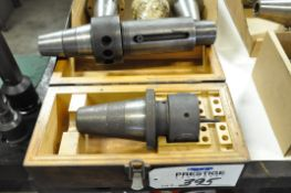 Lot-(6) CAT-50 and (1) BT-50 Taper Tool Holders and (2) Asst'd 50-Taper Tool Holders in (4)