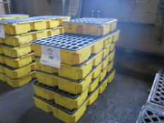 Lot of (6) 55-Gallon Drum Spill Trays