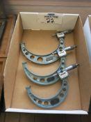 Lot of (3) Mitutoyo Micrometers