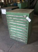 Lista 10-Drawer Cabinet w/ Contents