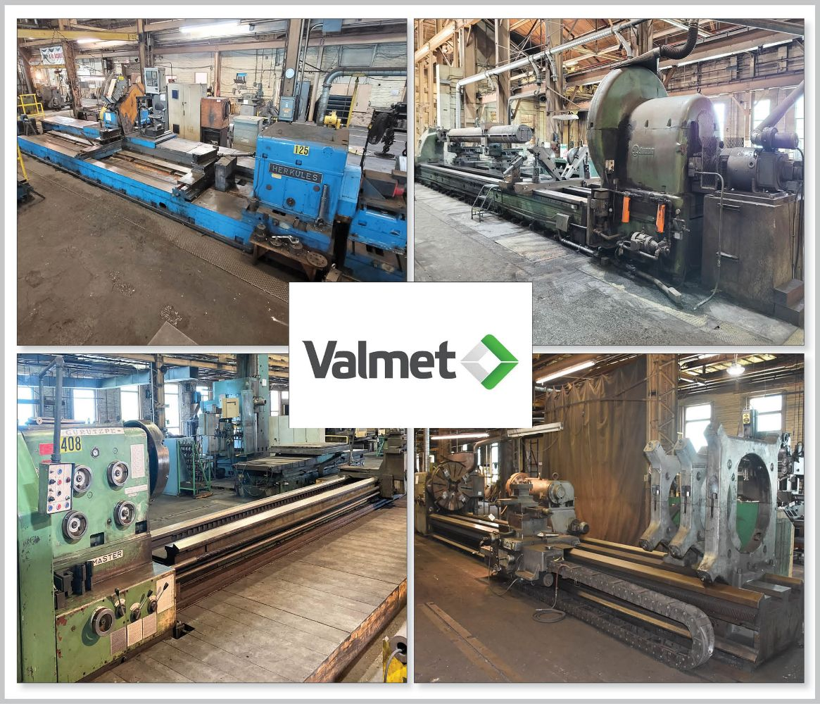 Former Assets of Valmet – 150,000 Sq. Ft. Large Capacity Machining Facility