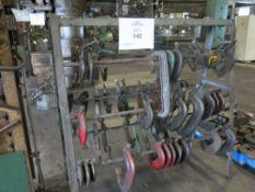 Heavy Duty Steel Rack w/ C-Clamps