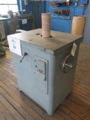 Master Model SP25P Drum Sander w/ (2) 2-Door Metal Cabinets and Contents