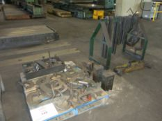 C-Clamps, Material Risers, Tiedowns, w/ Crane Mount Spreader Bar