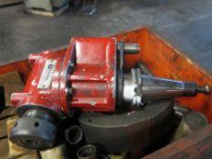 Bristol Tool & Gage 50-Taper Right Angle Attachment