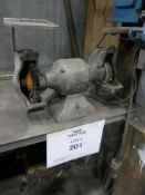 Lot of (2) Double Ended Bench Grinders
