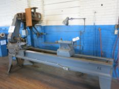 Wood Lathe w/ Approx.. 8' Bed, Steady Rest