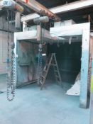 Spray Booth System, Interior Size Approx. 115 Across x 105 Deep
