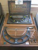 Lot of (2) Starrett Micrometers