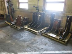 (4) Pallets of Angle Plates