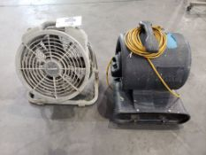 (2) Air Movers