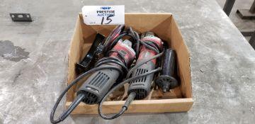 (1) Avid Power AAG590 & (1) AAG595 Angle Grinders
