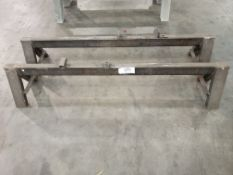 (2) 6'L Steel Saw Horses