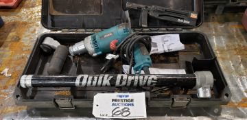 Makita 6828Z Quik-Drive Auto Feed Screw Driving System With QDPRO300SG2