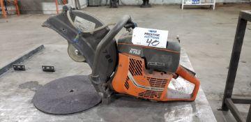 "Husqvarna Partner K750, 14"", Gas Powered, Handheld Cut Off/ Concrete Saw"