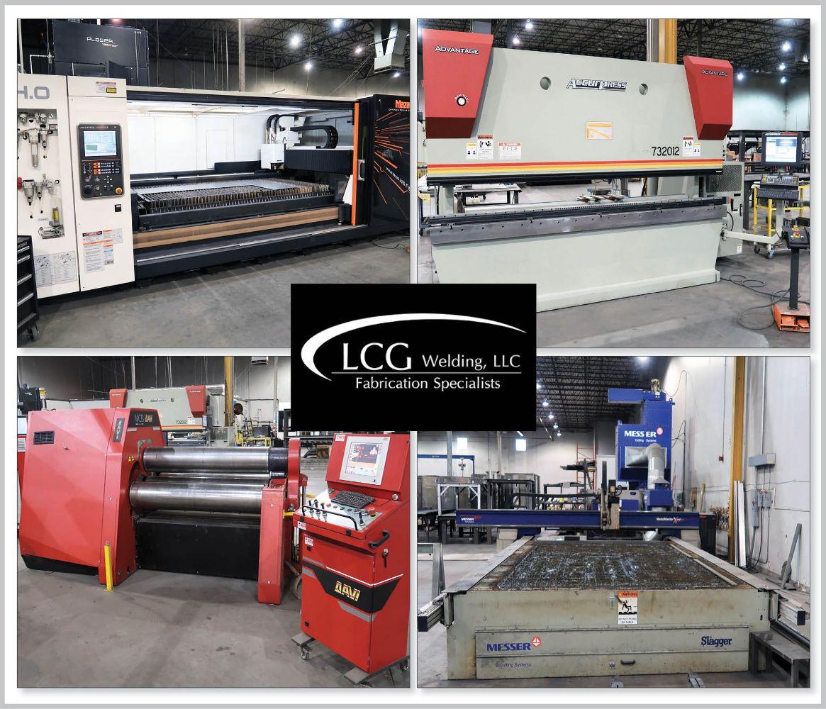 LCG Welding, LLC – Late Model Fabricating & CNC Machining Equipment