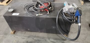 Fuel Tranfer Tank W/ GPI M-150S Fuel Transfer Pump