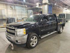 2011 Chevrolet Siverado 2500HD LTZ 4WD Flat Bed Truck, 7' Flat Bed, Crew Cab