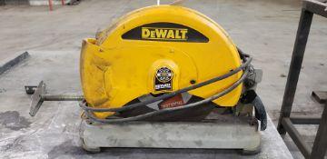 "DeWalt D28715 14"" Abrasive Cut Off Saw"