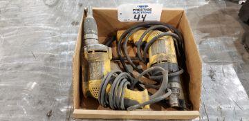 (1) DeWalt DW272 & (1) DeWalt DW257 VSR Drywall Screwdrivers