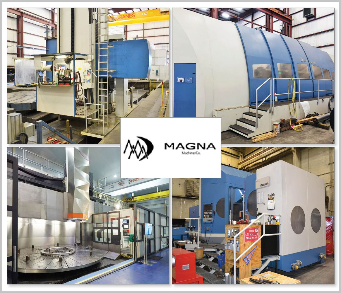 Surplus to the Ongoing Needs of Magna Machine