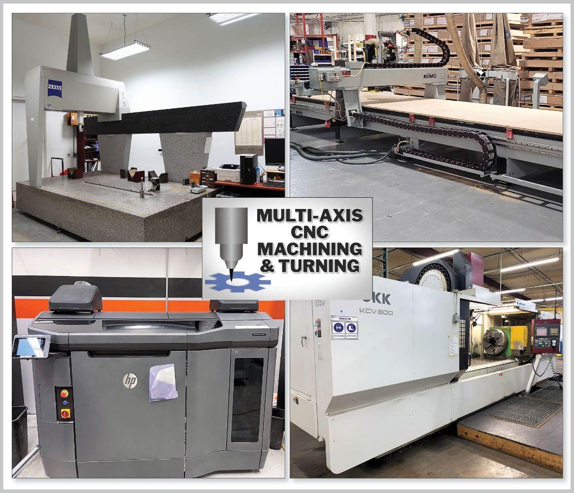 Multi-Axis CNC Machining & Turning – Surplus to Aerospace & Power Generation Manufacturers