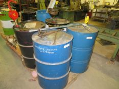 SKID OF SOLVENT IN DRUMS