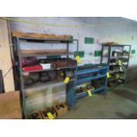 (3) SECTIONS OF METAL SHELVING (NO CONTENTS)