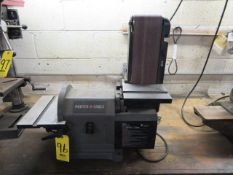PORTER-CABLE PCB420SA 4 IN. BELT WITH 8 IN. DISC SANDER