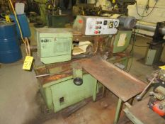 DOALL MDL. C-10 AUTOMATIC HYD. FEED HORIZONTAL BAND SAW, S/N 344-76281, HYD. CLAMPING AND ROLLER FEE