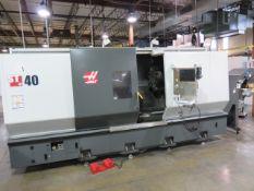 "2012 HAAS ST-40 CNC LATHE, S/N 3094184, 1,997 HOURS, 4.62"" SPDL. BORE, 4"" BAR CAPACITY"