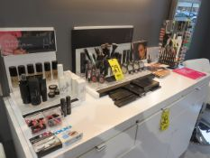 ASSORTED GLO MAKE-UP-KITS, TINTS, LIPSTICKS AND GLOSS, MASCARA PRIMER, PENCILS, BRUSHES AND MORE...