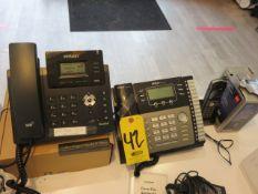 VERIZON SIP-T40GB YEOLINK, RCA 2542RE1 AND DEC 6.0 ACCESSORY HANDSET PHONES