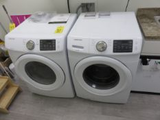 SAMSUNG WF42H50000AW/AL FRONT LOAD 4.2 CF WASHER AND DV42H5000EW/A3 ELECTRIC 7.5 CF DRYER