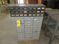 (30) DRAWER AND (24) DRAWER PARTS CABINET