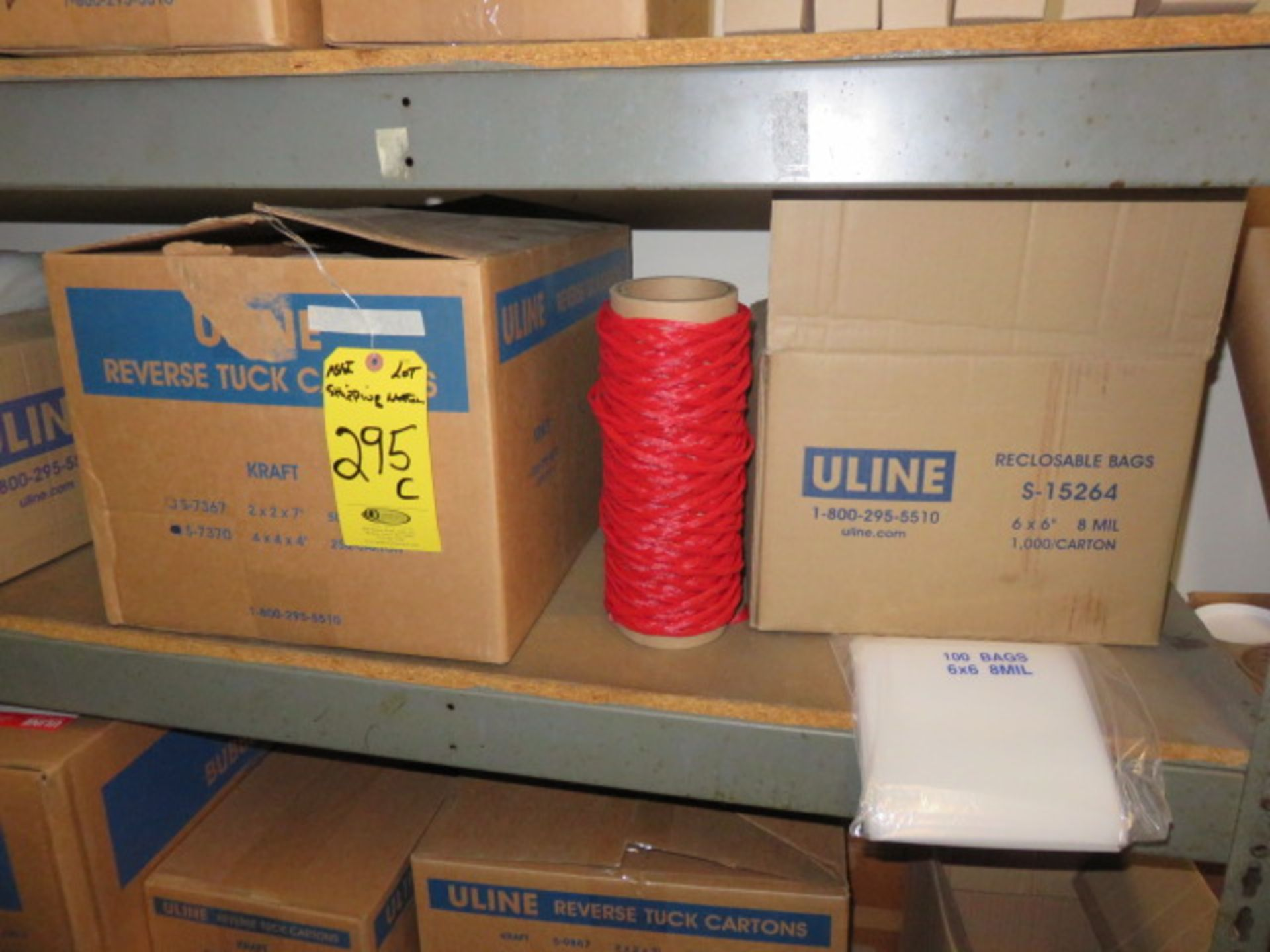 KRAFT REVERSE TUCK CARTONS, POLY & BUBBLE BAGS - Image 5 of 9