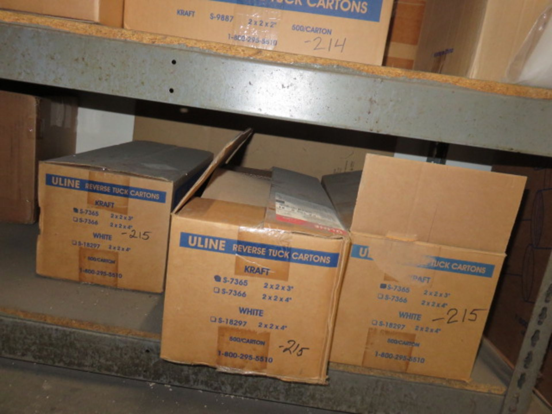 KRAFT REVERSE TUCK CARTONS, POLY & BUBBLE BAGS - Image 8 of 9