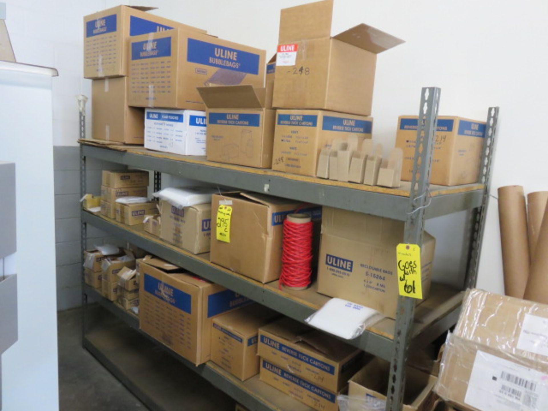 KRAFT REVERSE TUCK CARTONS, POLY & BUBBLE BAGS